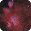 Simeis 188 - gas, dust and clouds complex in Sagittarius,                                herwig_p