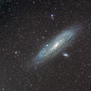 Andromeda Galaxy,                                  Andrew Barton