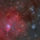 NGC2264 wide field,                                Byoungjun Jeong