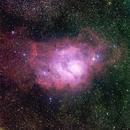 M8 - The Lagoon Nebula,                                Insight Observatory