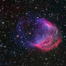 Medusa Nebula (Abel 21) Closeup @ DSW,                    Miles Zhou