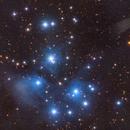 The Pleiades (M45),                                Josh Woodward