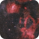 Lobster Claw - Bubble nebula and neighbors - HaLRGB,                                Paul Schuberth