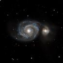 M51 Whirlpool Galaxy,                                Ahmed