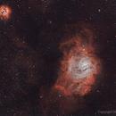 Lagoon & Trifid Nebulas,                                Obaid Musabbeh