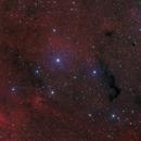 Sharpless 2-134 in Cepheus - HaLRGB,                                Steve Milne