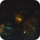 NGC7635 widefield,                                Gerhard Henning