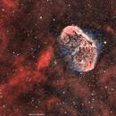Crescent & Soap Bubble Nebula,                                Maroun Mahfoud