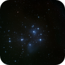 M45 Pleiades Cluster,                                  Wesley Creech