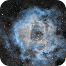 Rosette nebula in narrow band (awfully cropped),                                Philipp Weller