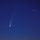 Cometa 2020/F3 Neowise + ISS,                                Lakar