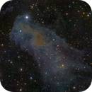 LBN 917 (Lynds Catalog of Bright Nebulae),                                Miles Zhou