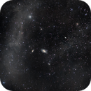 M81 + M82 with Integrated Flux Nebula IFN,                                Ken Mitchell