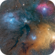 Antares nebula complex,                                Jeff Bottman