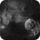 The Jellyfish Nebula (IC443) imaged in Hydrogen-alpha,                                Andrew Klinger