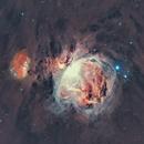 Great Orion Nebula M-42 & 43,                                Iñigo Gamarra