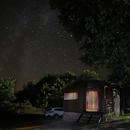 Cabin under the stars,                                J_Pelaez_aab