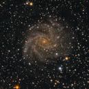 NGC 6946 The Fireworks Galaxy in Cepheus,                                Stephan Linhart