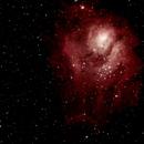 Lagoon nebula,                                André G.