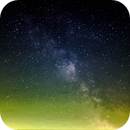 The milky way: my first try,                                Thomas Van Poecke
