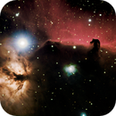 Horsehead and Flame Nebula in HaRGB,                                Eduardo Oliveira