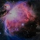 M42 - Orion nebula,                                sébastien gilliard
