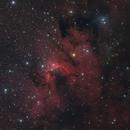 Sh2-155 Cave Nebula SHO,                                Barry Wilson