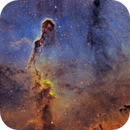 IC 1396 - Elephant Trunk in SHO,                                Casey Good