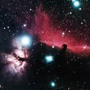 Horsehead and Flame Nebulas,                    Gerard O'Born