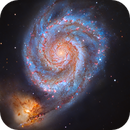 M51 - Whirlpool Galaxy RGB - Telescopio Nazionale Galileo :-),                                Daniel Nobre