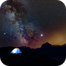 Milky Way Composite in the Swiss Alps,                                Chris Schaad