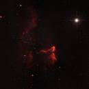 IC59 IC63 y Cas nebula + star Navi,                                urmymuse