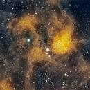 IC 417 Spider Nebula,                                Larry S