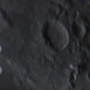 Moon Crater Macrobius Region - 10Nov2014,                                Geof Lewis