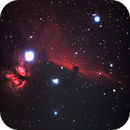 Horse Head IC 434 my 1st CCD image,                                BDGAstro