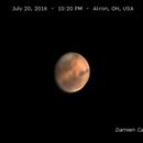Mars 7/20/16,                                Damien Cannane