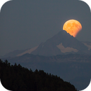 Partial Lunar Eclipse at moonrise,                                Peter