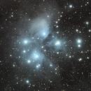 Messier 45 - The Pleiades Star Cluster,                                Arun H.