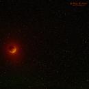 Lunar eclipse in a field of stars,                                Roger Clark