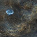 Crescent Nebula in SHO,                                ShamanTanthew
