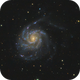 M101 Pinwheel Galaxy,                                Krishna Vinod