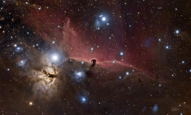 IC434 HorseHead Nebula HyperStar Composite,                                TimothyTim