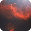 Sh2-198 Emission Nebula Off of the Soul in HOO,                                Douglas J Struble