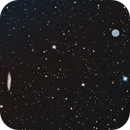 M 108 The Surfboard Galaxy with M 97 The Owl Nebula,                                Lawmarks