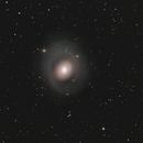 Messier 94 im Sternbild Jagdhunde (Canes Venatici) -  gecropped,                                astrobrandy