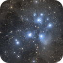 M45 : The Pleiades Cluster,                                Tristan Campbell