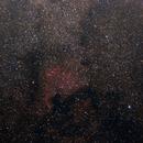North America Nebula 135mm (no startracker),                                Hoel