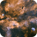 Sadr Widefield with Crescent Nebula - Hubble Pallet (One Shot Color),                                Matthew McLaughlin