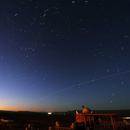 ISS in twilight from Marocco,                                Astro-Rudi