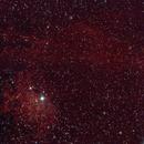 Sh2-229 - IC 405 - Flame Nebula,                                Uwe Deutermann